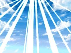【図】「光」レイヤの合成方法を「ハイライト」に変更│12ヶ月連続イラスト12枚目