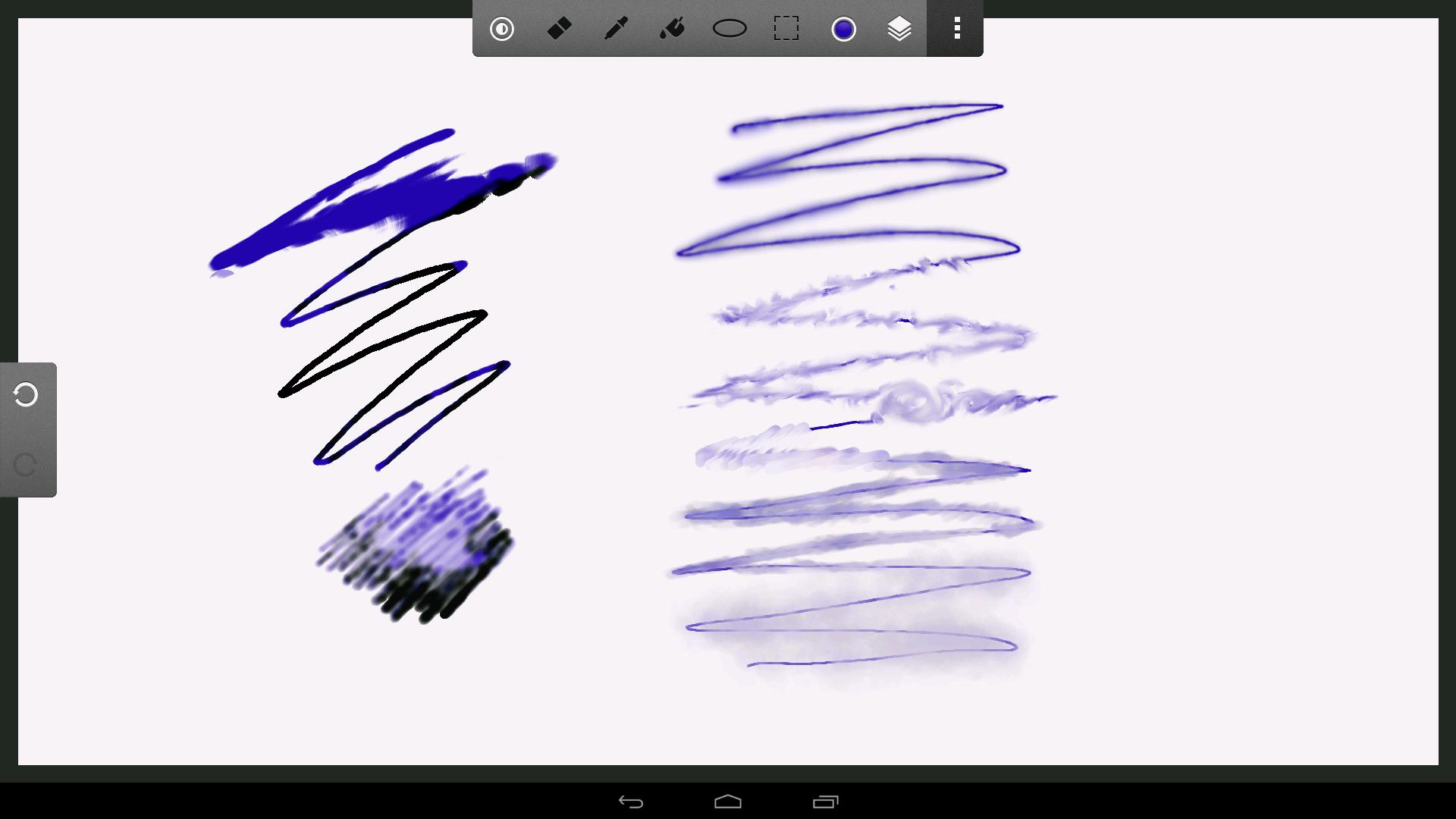 Createve Canvas 透明なレイヤーではうまくぼかせない